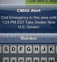 CMAS Alert
